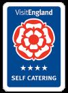 Visit England 4 Star Self Catering Award
